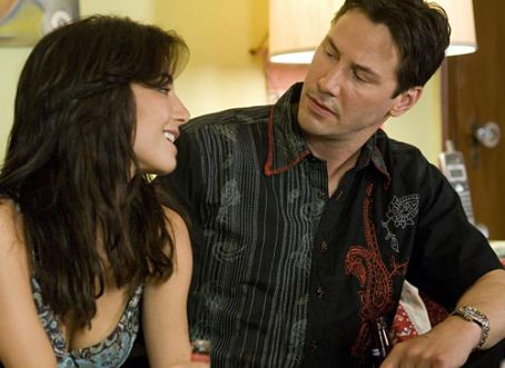 Street Kings Keanu Reeves and Martha Higareda