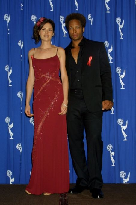 Jorja Fox Gary Dourdan and