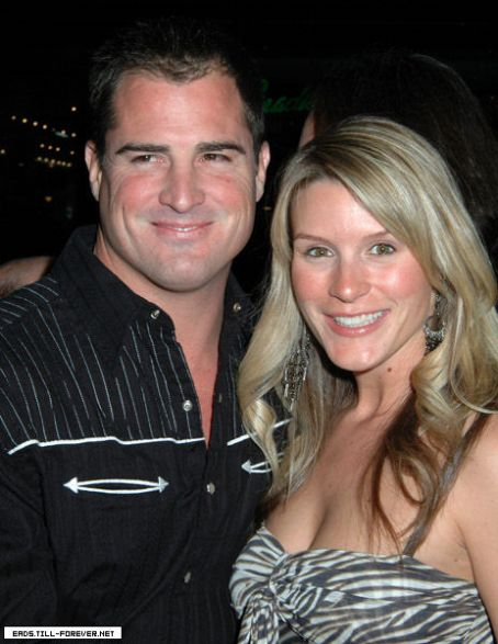George Eads  and Monica Casey