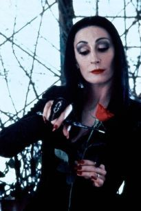 Morticia Addams Anjelica Huston in The Addams Family (1991)