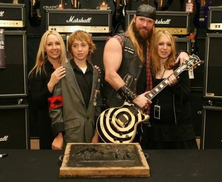 Barbaranne Wylde Zakk and  and family