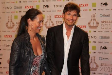 Morten Harket and his wife