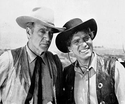 Burt Lancaster  and Gary Cooper in Vera Cruz (1954)