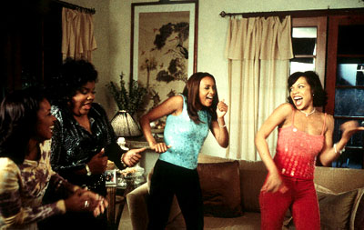 Tamala Jones , Mo'Nique, Vivica A. Fox and Wendy Raquel Robinson in Screen Gems' Two Can Play That Game - 2001