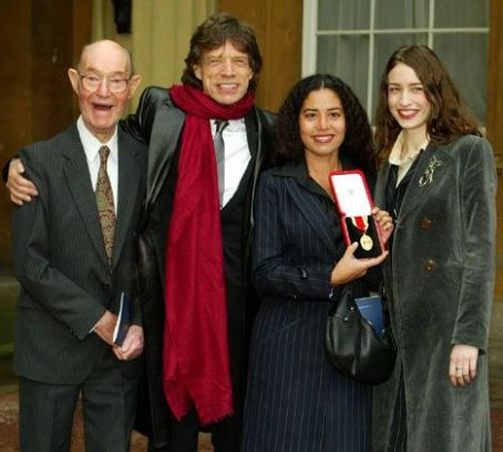 Karis Jagger Hunt Mick,Karis and Elizabeth Jagger