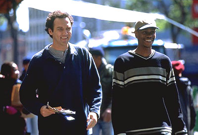 Screwed Norm MacDonald as Willard Fillmore and Dave Chappelle as Rusty P. Hayes in Universal's comedy  - 2000