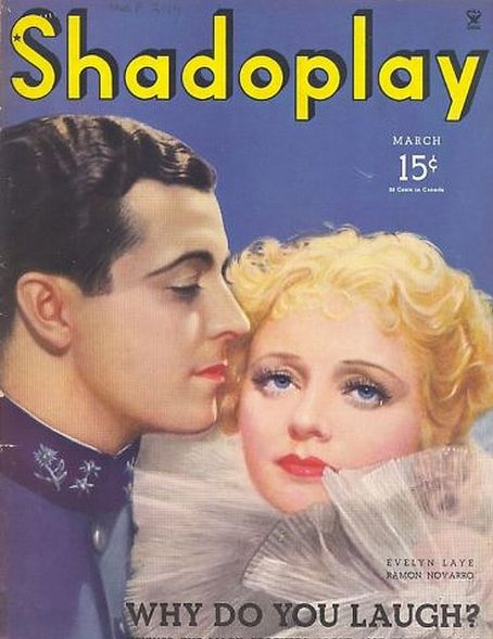 Evelyn Laye - Shadoplay Magazine [United States] (March 1935)