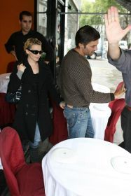 Olivier Martinez Kylie Minogue and