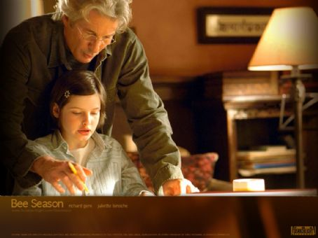 Richard Gere stars as Saul Naumann and Flora Cross Eliza Naumann in Fox Searchlight's drama The Bee Season - 2005