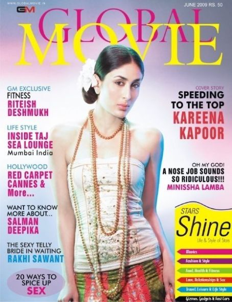Kareena Kapoor - Global Movie Magazine [India] (June 2009)