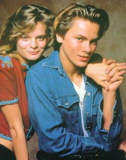 River Phoenix and Martha Plimpton