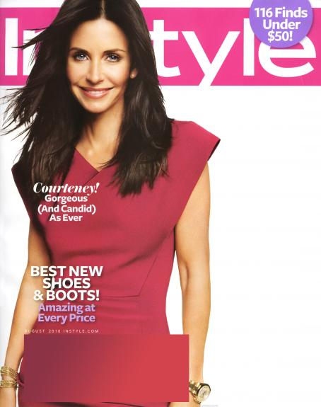 Courteney Cox - InStyle Magazine August 2010