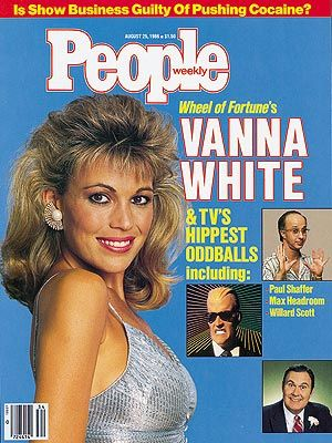 Vanna White  - PEOPLE Cover, August 25, 1986