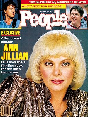 Ann Jillian  - PEOPLE Cover, August 14, 1985