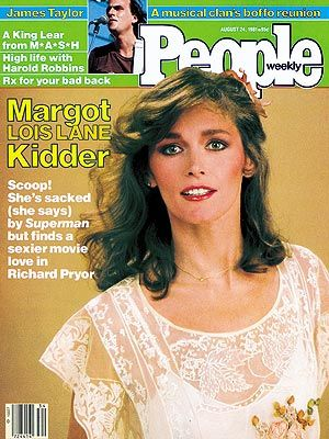 Margot Kidder  - PEOPLE Cover, August 24, 1981