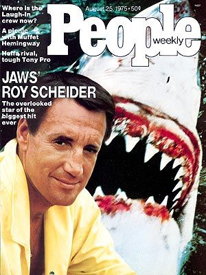 Roy Scheider  - PEOPLE Cover, August 25, 1975