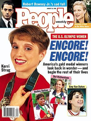 Kerri Strug - PEOPLE Cover, August 19, 1996
