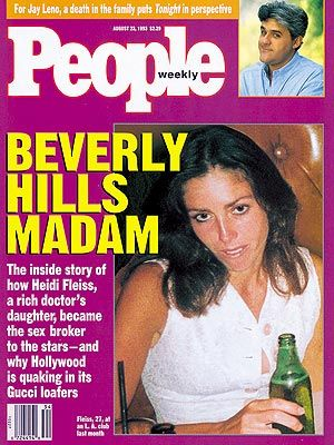 Heidi Fleiss  - PEOPLE Cover, August 23, 1993