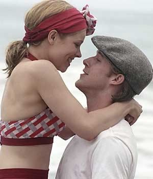 The Notebook Ryan Gosling and Rachel McAdams