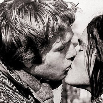 Ryan O'Neal  and Ali MacGraw in Love Story (1970)