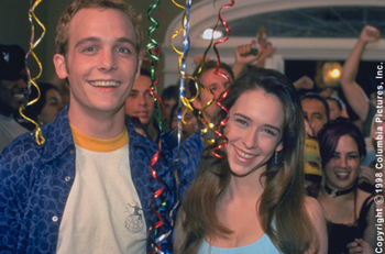 Can't Hardly Wait Ethan Embry and Jennifer Love Hewitt in Columbia's Can't Hardly Wait - 1998