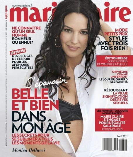 Monica Bellucci - Marie Claire Magazine Cover [Belgium] (April 2011)