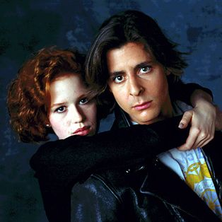 Molly Ringwald and Judd Nelson