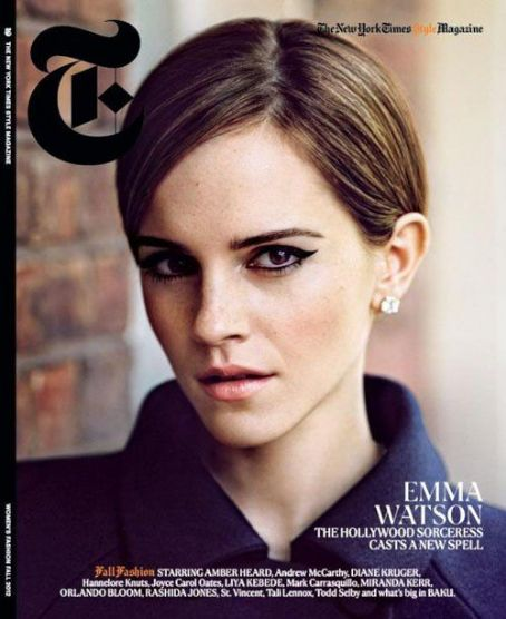 "With her new movie ""The Perks of Being a Wallflower"" set to hit theaters on September 21st, Emma Watson garnered herself a little added exposure by covering the Women's Fashion Fall 2012 issue The New York Times ""T"" Style Magazine"