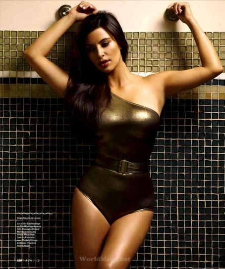 Kim Kardashian Esquire Mexico June 2012