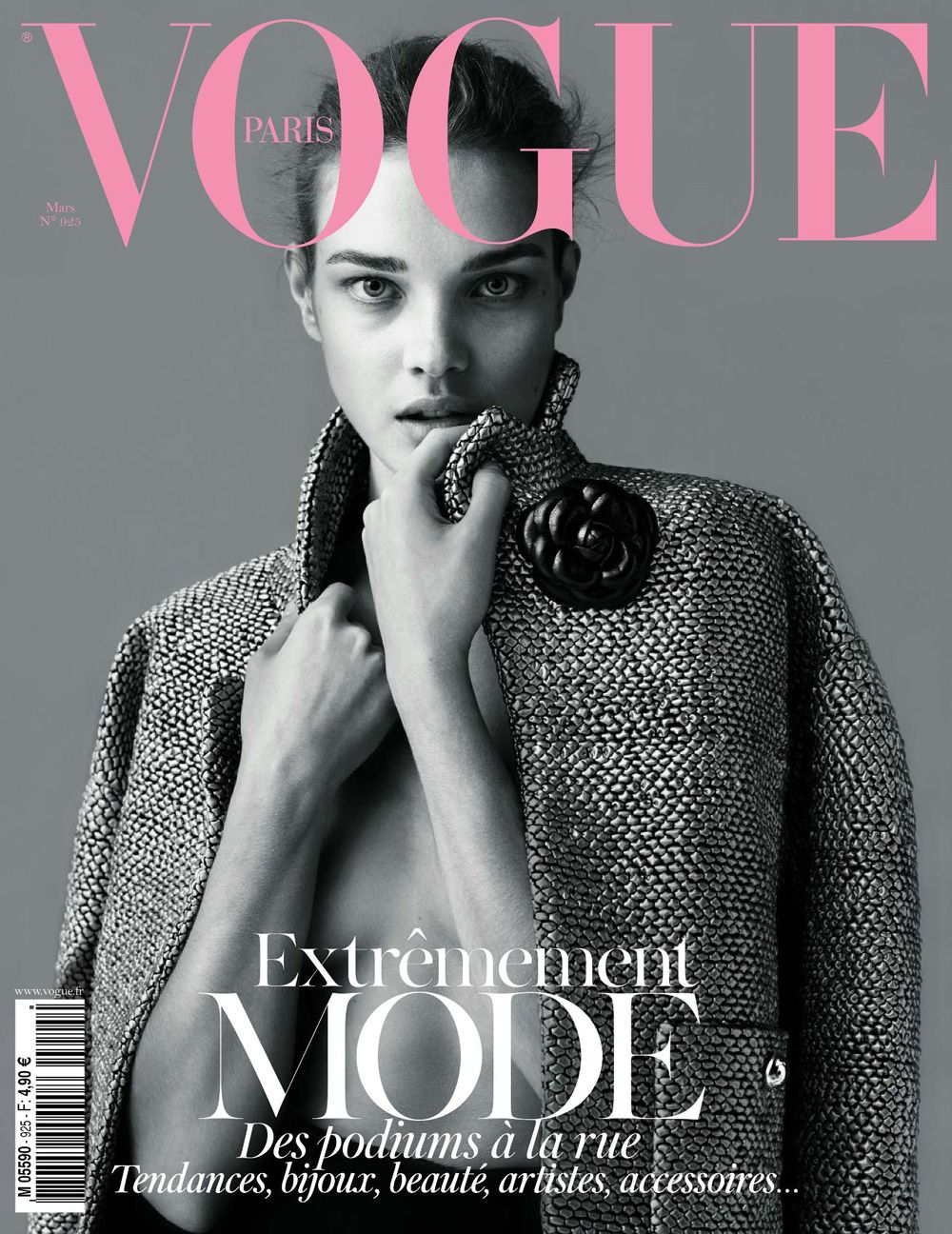 Natalia Vodianova - Vogue Magazine Cover [France] (March 2012)