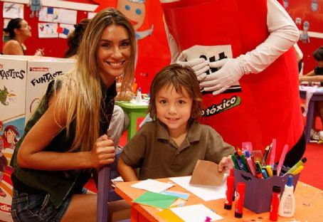 Paula Morales and her son Benicio