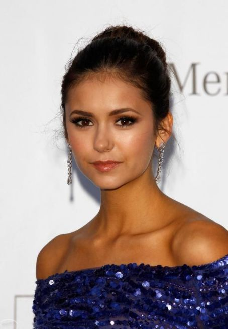 Nina Dobrev attended the 2012  amfAR Gala last night, May 24, in Cannes, France