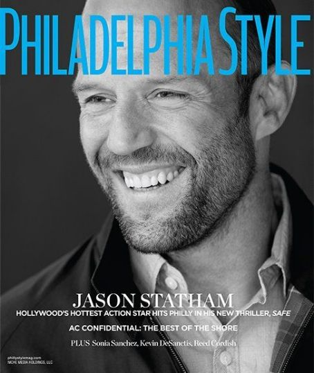 Jason Statham - Philadelphia Style Magazine Cover [United States] (May 2012)