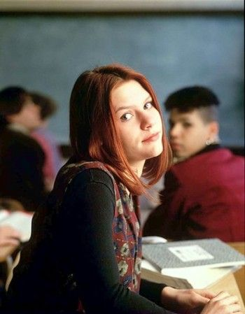 Called Life Claire Danes on Claire Danes As Angela Chase In My So Called Life  1994    Claire