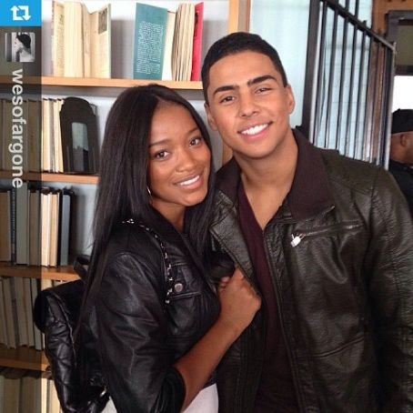 Quincy Brown  and Keke Palmer