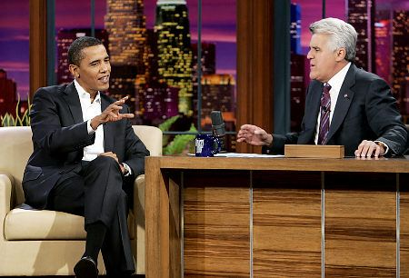 Barack Obama - President Obama On The Tonight Show with Jay Leno