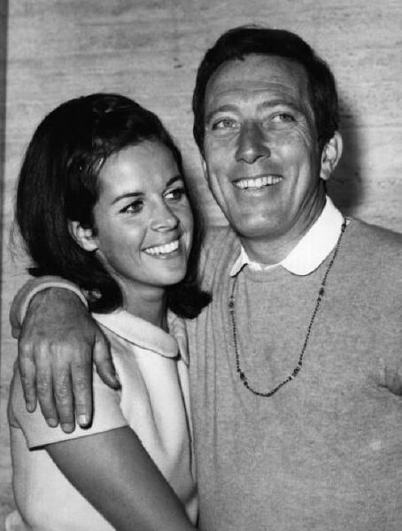 Andy Williams  and Claudine Longet