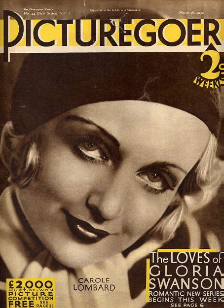 Carole Lombard - Picturegoer Magazine [United Kingdom] (26 March 1932)