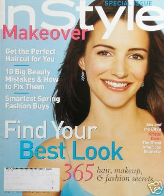 Kristin Davis - InStyle Makeover Magazine Cover [United States] (June 2002)