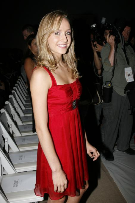 Nastia Liukin  - BADGLEY MISCHKA Fashion Show, NY, 2008-09-12