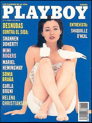 Shannen Doherty - Playboy Magazine Cover [Spain] (February 1994)