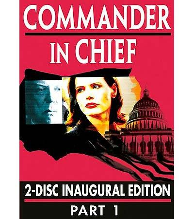 Commander in Chief DVD Poster