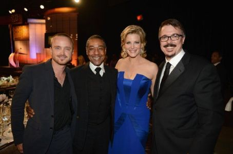Vince Gilligan Broadcast Television Journalists Association Second Annual Critics' Choice Awards - Backstage and Press Room