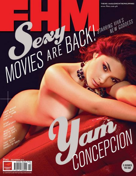 Yam Concepcion  FHM Philippine October 2012