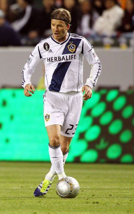David Beckham Makes Galaxy Season Debut