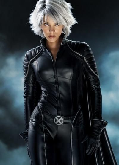 Storm Halle Berry As  In The X-Men Series
