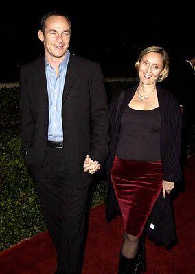 Emma Hewitt  With Her Husband