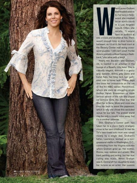 Lauren Graham Ladies Home Journal May 2011