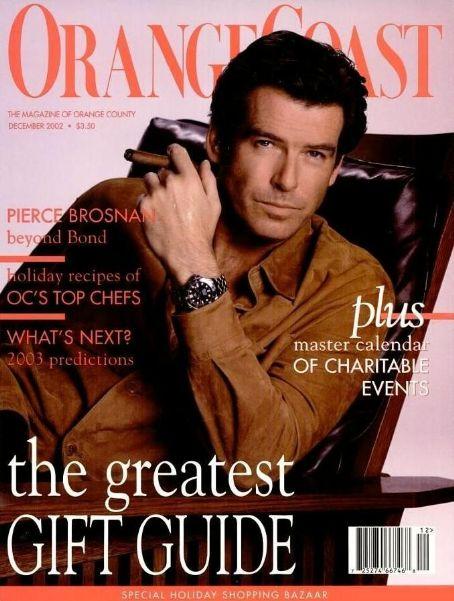 Pierce Brosnan - Orange Coast Magazine Cover [United States] (December 2002)