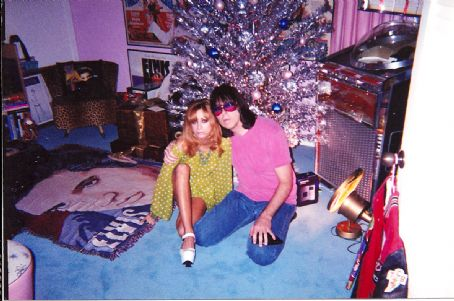 Johnny Ramone  and Linda Ramone